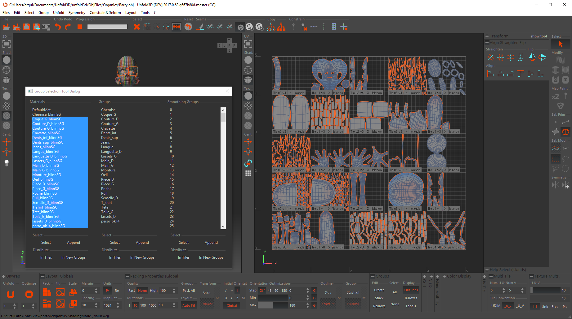 RizomUV Virtual Spaces - UV Mapping software